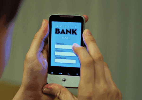 Mobiles good for banking?